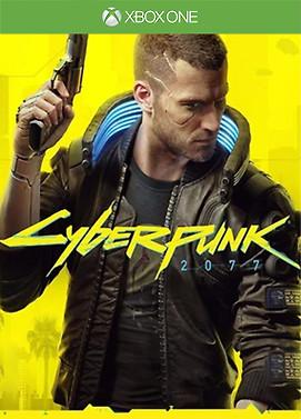 Cyberpunk 2077 X-Box one x-box series xs cover