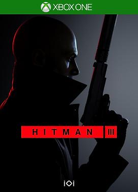Hitman 3 X-box One Cover
