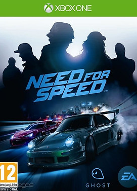 Need for Speed X-Box One cover